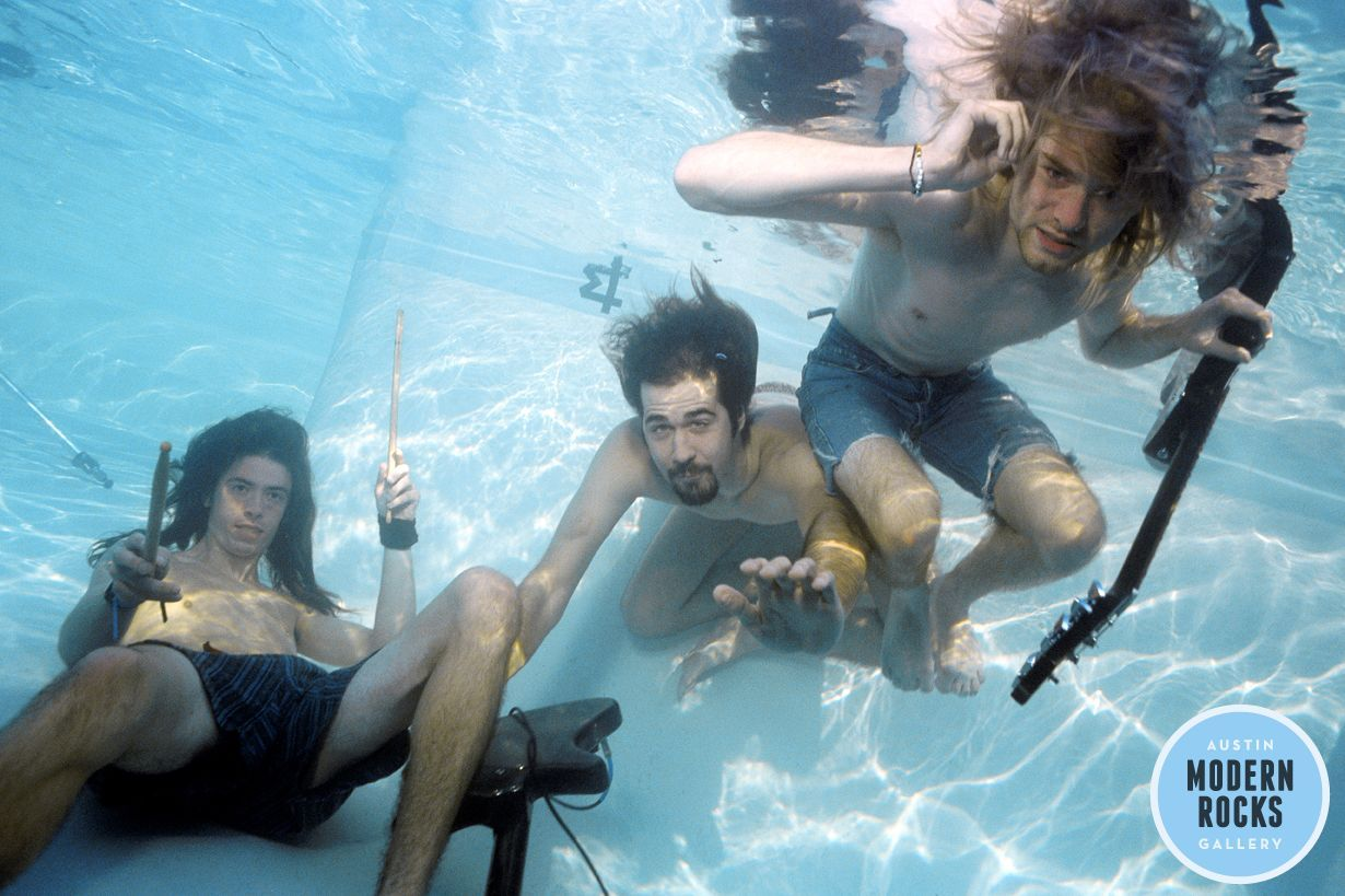 Kurt Cobain Said 'F--- That' Then Jumped In The Pool For These Unseen 'Nevermind' Photos