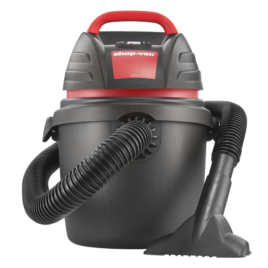 Shop Shop Vac 2 5 Gallon 2 5 Peak Hp Shop Vacuum At Lowes Com