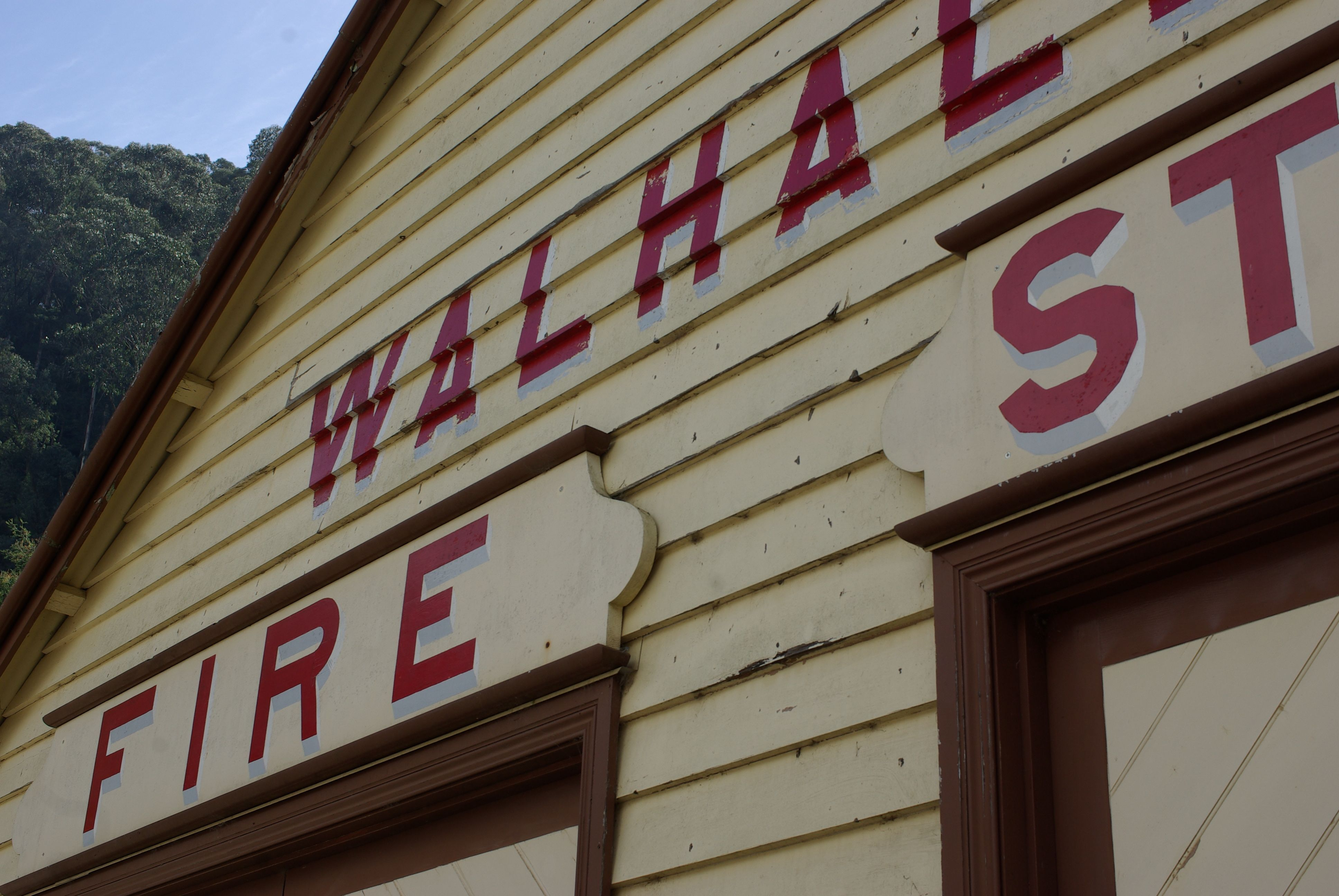 Historic Walhalla CFA Old Fire Station (Built over the