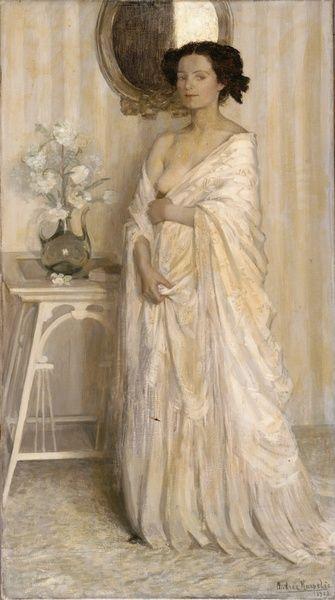 Andrée KARPELÈS Symphonie en blanc,1908