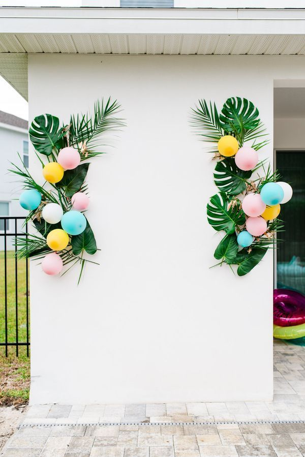 A Poolside Palm Springs Inspired Engagement Party