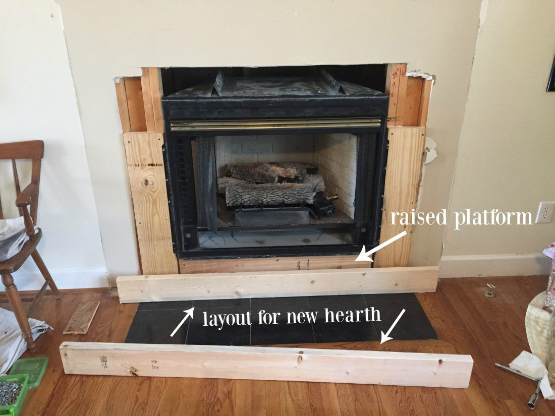 DIY Fireplace Makeover Diy fireplace, Diy fireplace