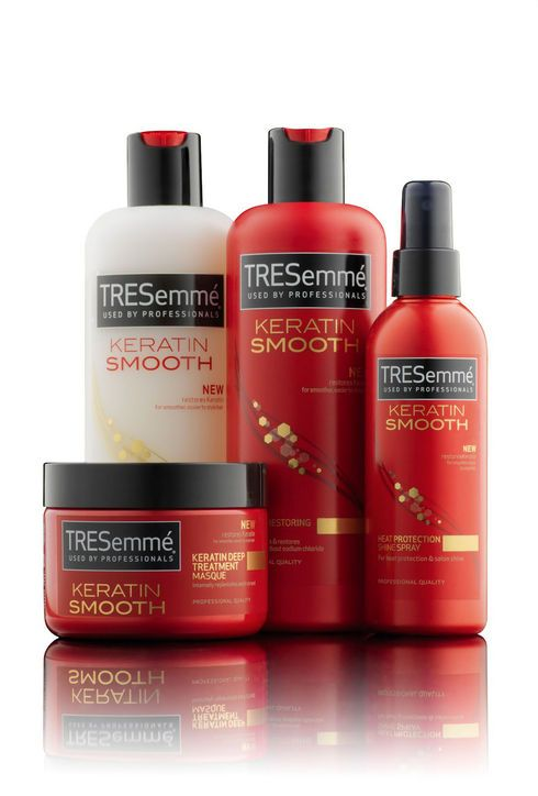 18 Brand New Beauty Products To Try In 2013 Tresemme Keratin Smooth Keratin Shampoo Tresemme
