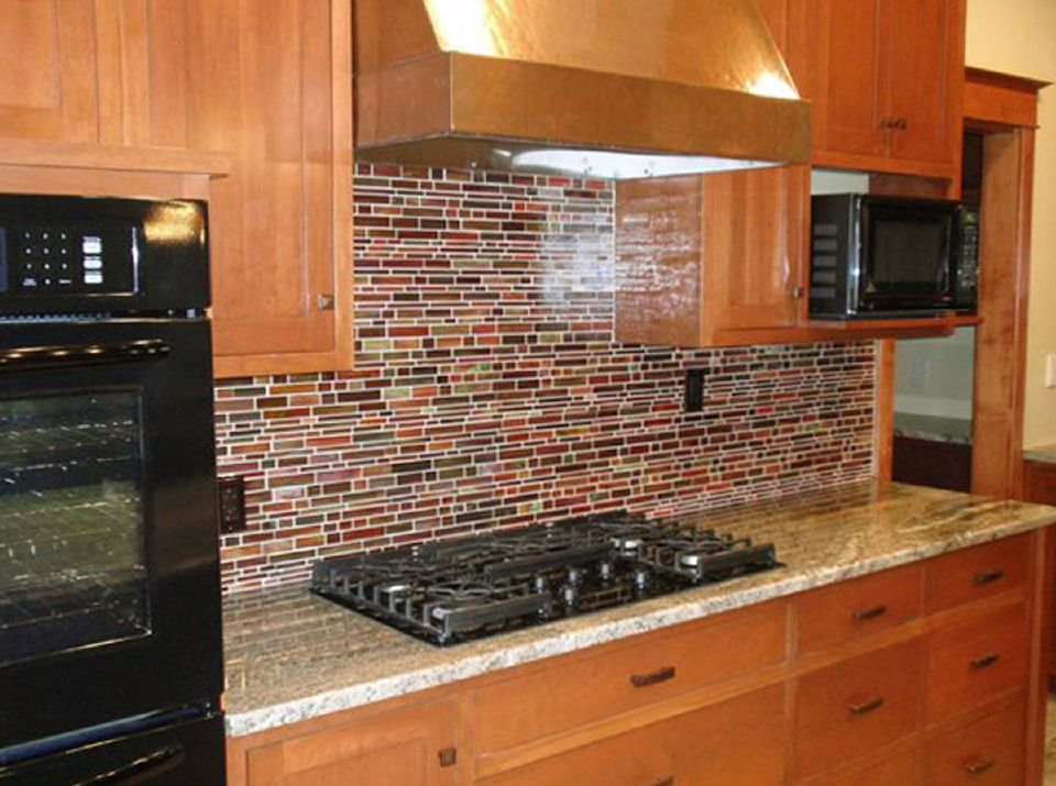 Find This Pin And More On Kitchen Rainbow Falling Water Glass Tiles