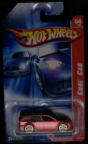 Hot Wheels 2007-088/180 04 of 24 RED Audacious 1:64 Scale by MATTEL. $2.99. 1:64 Scale Die-Cast Collectible Car. CODE CAR. 1:64 diecast car