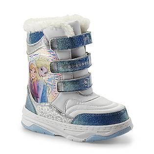 Disney Frozen ToddlerYouth Girl's 6 12 WhiteBlue