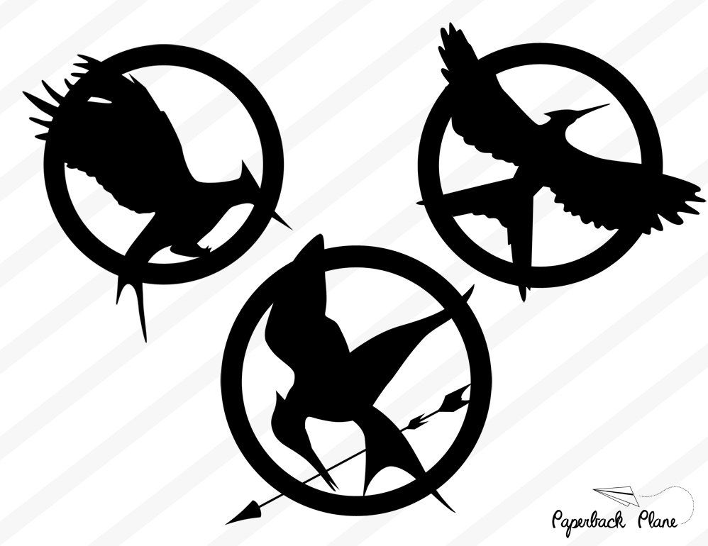 large mockingjay outline | make freezer paper stencil for ... |Hunger Games Mockingjay Pin Outline