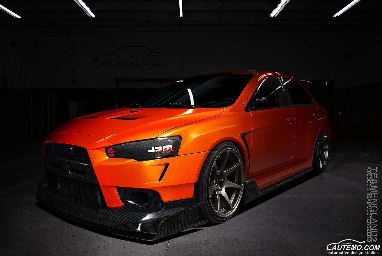 Black Mitsubishi Evo X Exclusive Hd Wallpapers With Images