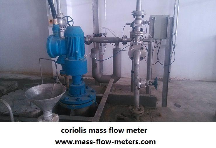 Pin on coriolis mass flow meter