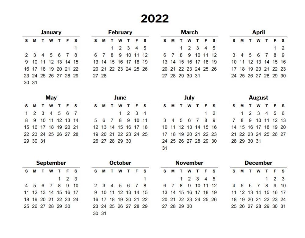 Calendar 2022 Template.2022 Calendar Template Free Calendar Template Excel Calendar Template Calendar Template