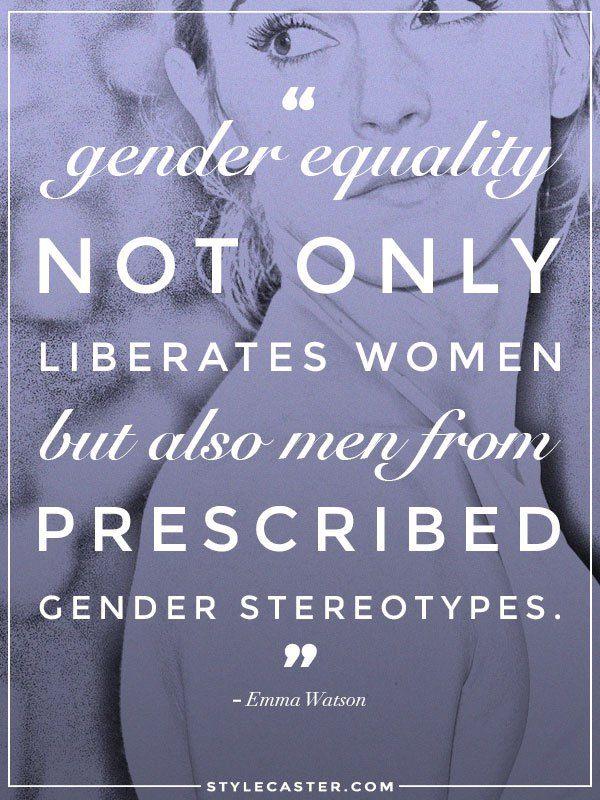 Gender Equality Quotes : gender, equality, quotes, Quotes