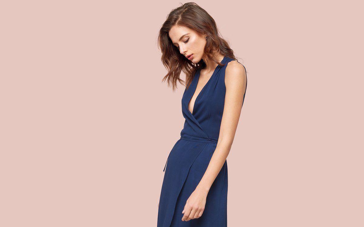 c24c92fb03 Wrap Gown - Suzette – MICKEY   JENNY