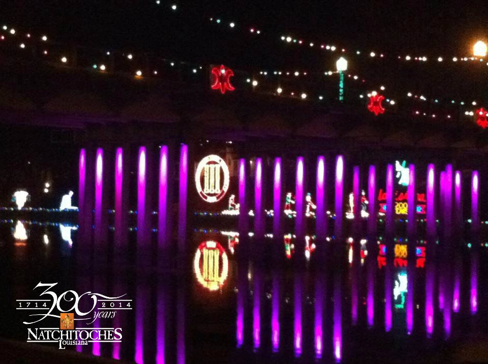 Another wonderful scene from our Natchitoches Christmas