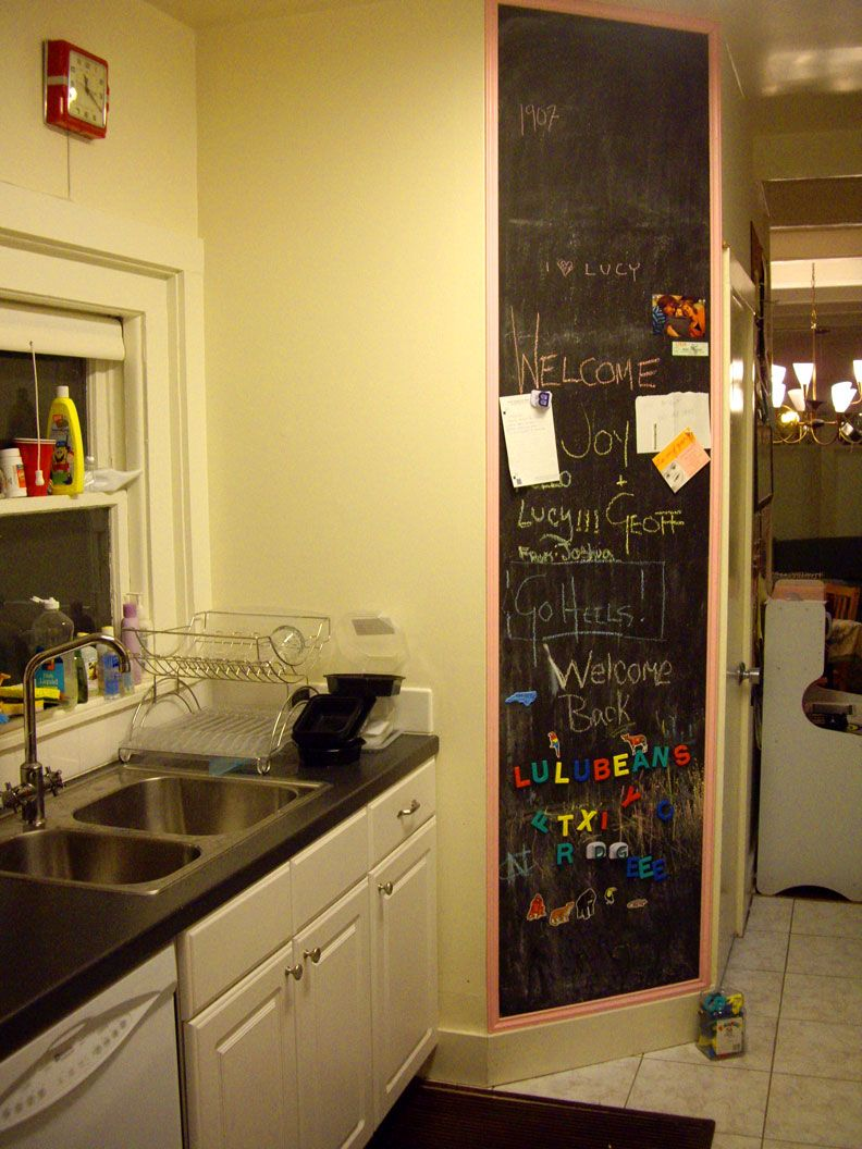 Luxury Kitchen Chalkboard Wall Ideas Images - The Wall Art ...