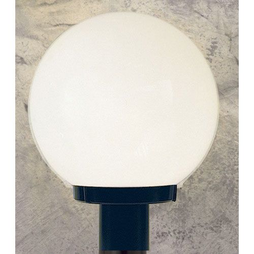 Sunset lighting outdoor builders one light black outdoor post outdoor builders one light black outdoor post fixture with white acrylic globe aloadofball