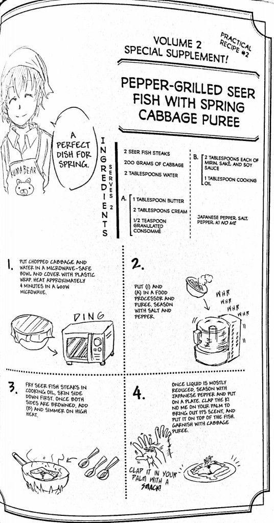 Food Wars Recipes SEVAC SouthEastern Virginia Anime