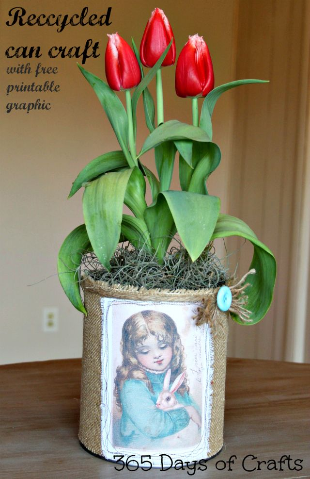 Make centerpiece for your Spring or Easter