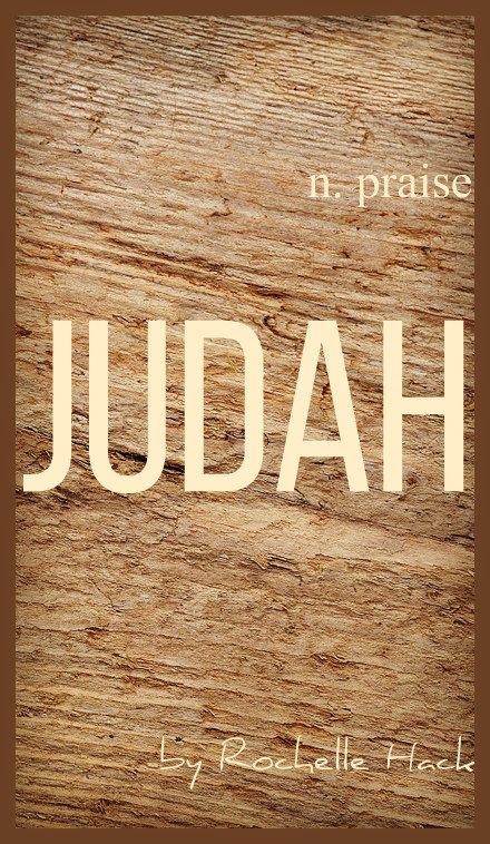 Baby Boy Name Judah Meaning Praise Origin Hebrew Vintagedaydream Names