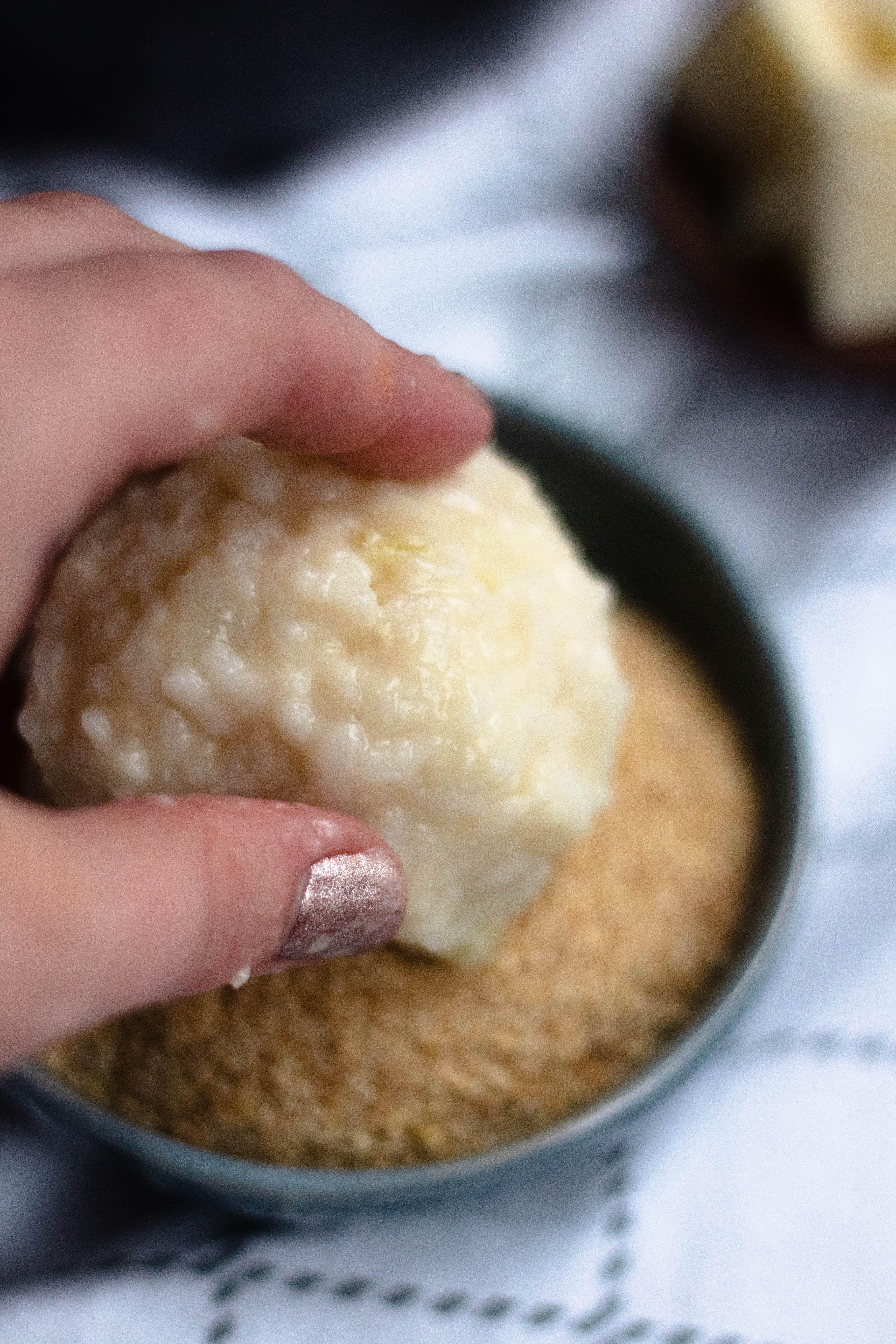 Arancini Recipe (Fried Rice Ball Stuffed with Chee