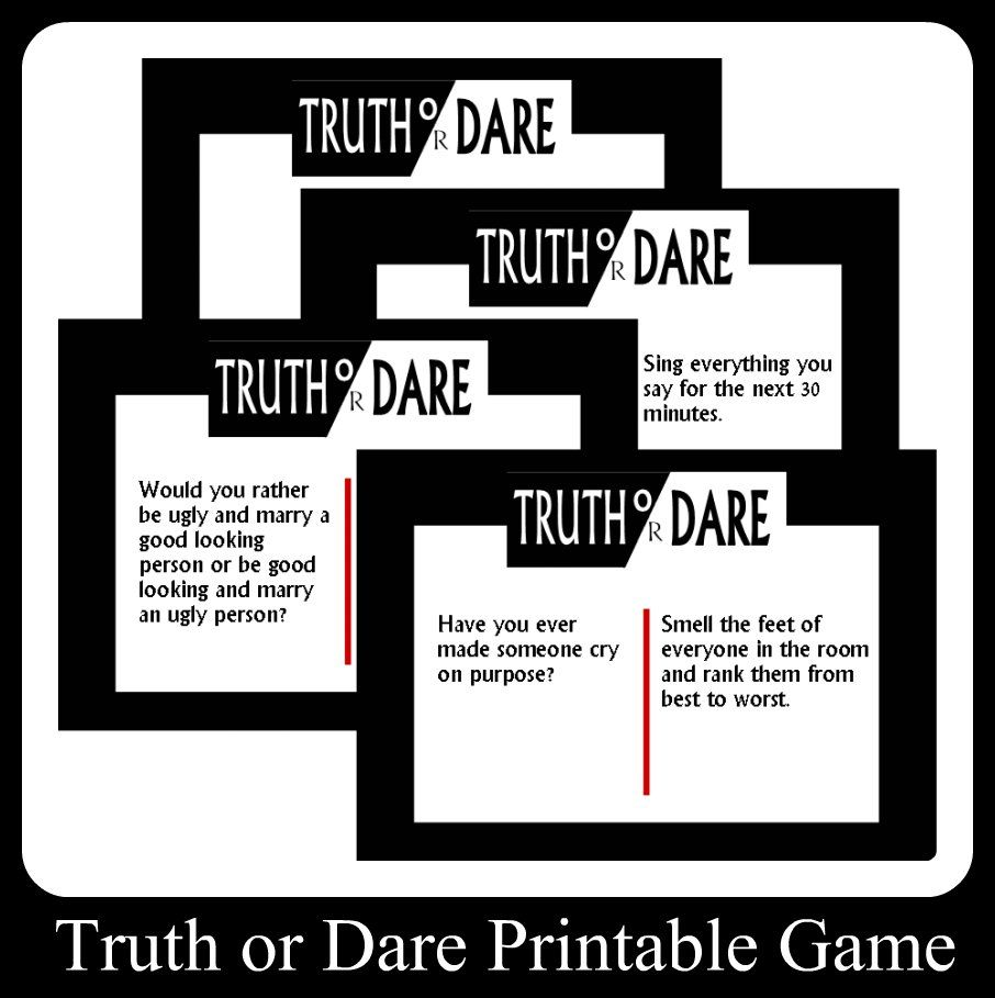 Awesome truths and dares