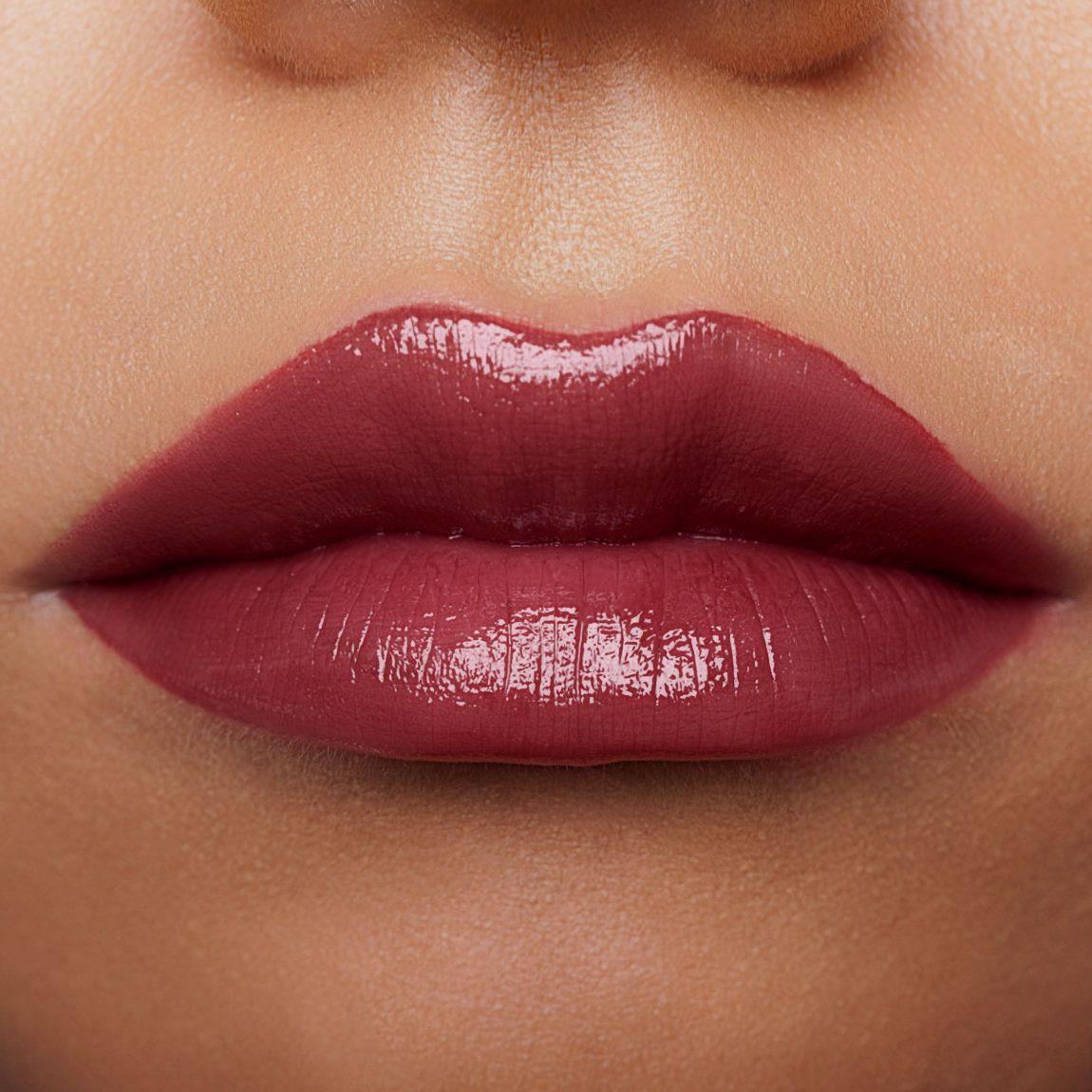 Too Faced La Creme Color Drenched Lip Cream Divine Wine