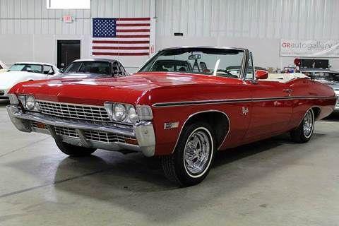 1968 Chevrolet Impala For Sale In Grand Rapids Mi Chevrolet Impala Impala For Sale Chevrolet