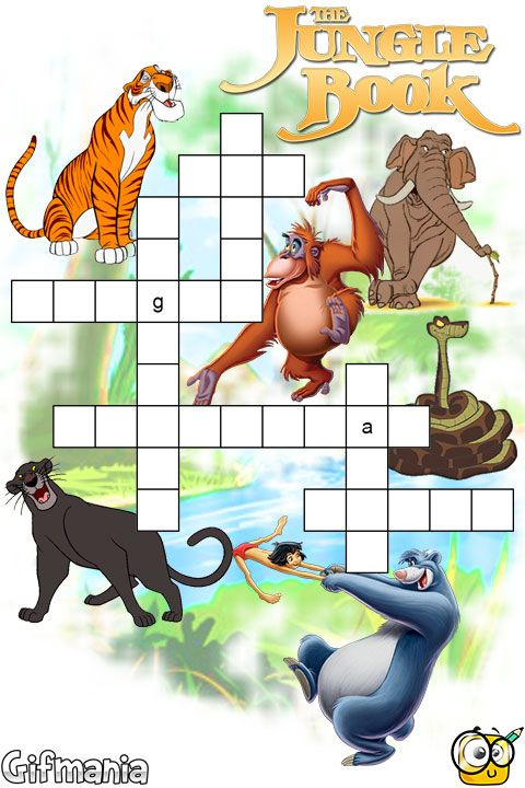 director of the jungle book crossword