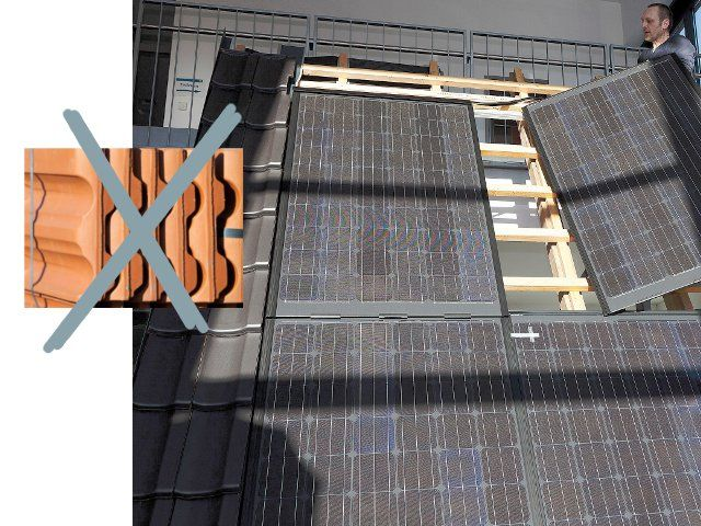 Solarmodul Statt Dachziegel Produkte Fur Dachdecker Dachdecker Dachziegel Dach