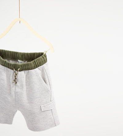 Image 3 of Bermuda shorts with pockets from Zara