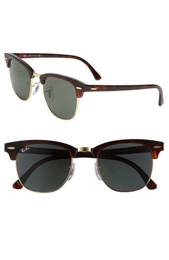 039cce2871c05 Ray-Ban  Classic Clubmaster  Sunglasses
