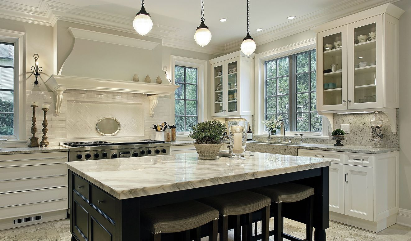 Marble Vs Granite Kitchen Countertops Granite Marble Countertops
