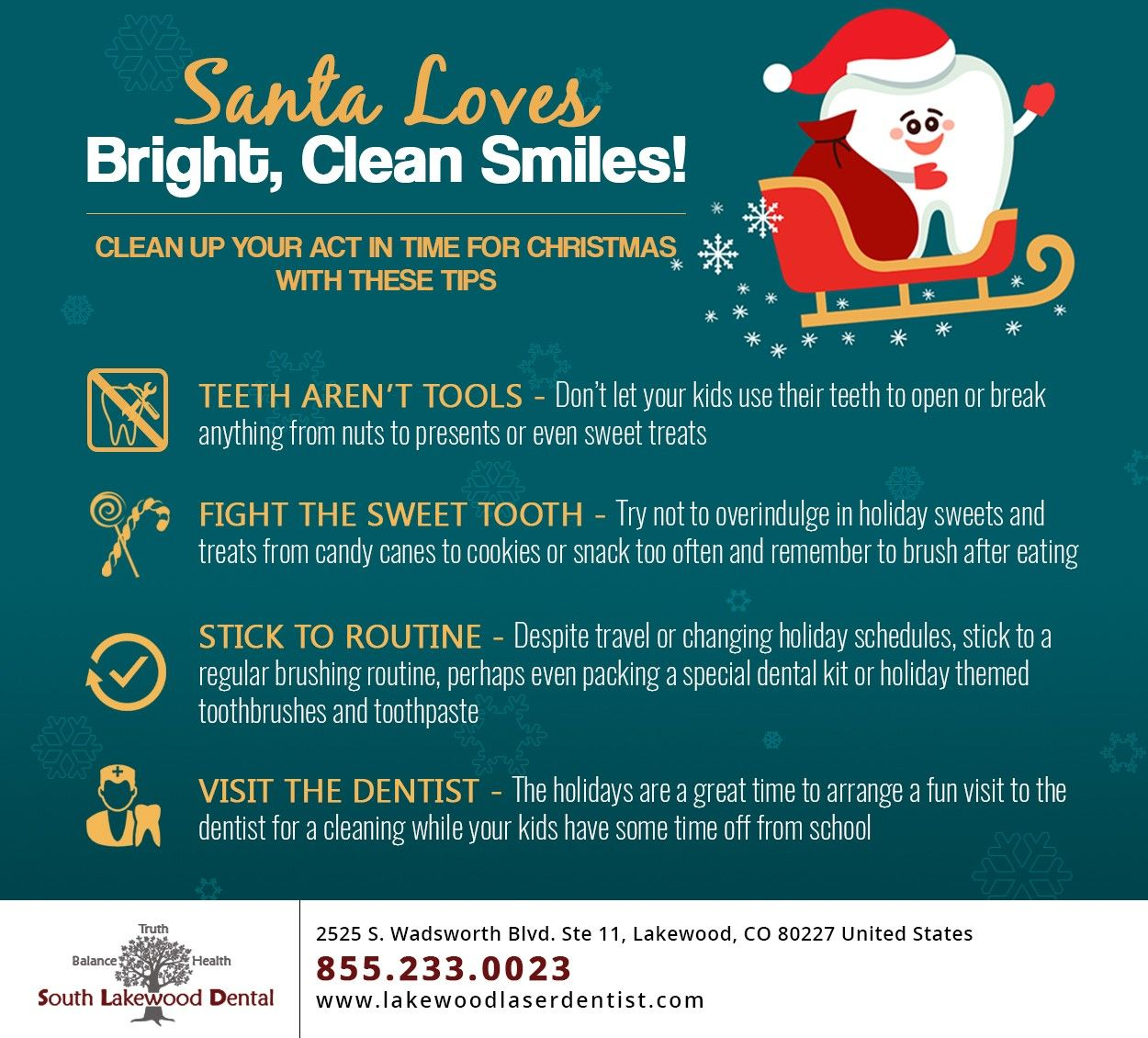 Get your kids smiles ready for santas nice list this