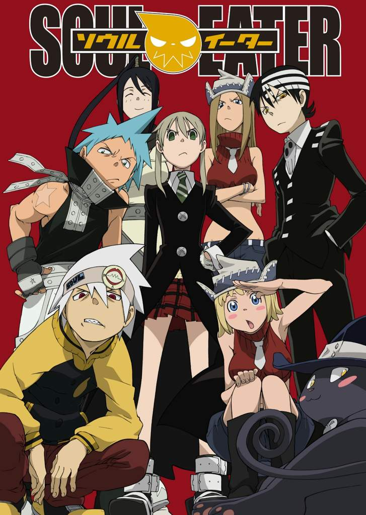 Soul Eater Group Fabric Poster