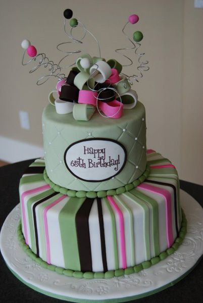 Birthday cake for 65th birthday 402 600 pixels for 65th birthday party decoration ideas