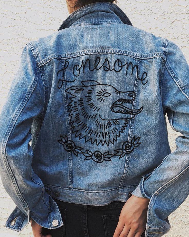 Resultado De Imagen De Diy Denim Jacket Ideas Embroidery
