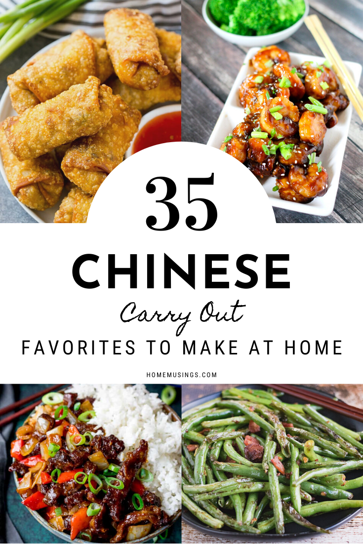 Chinese Carry Out Favorites In 2020 Easy Chinese Recipes Asian Recipes Homemade Chinese Food
