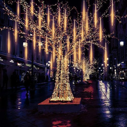 0d0a145da Pomelo tree 540 LED Meteor Falling Lights for Christmas or The Snowfall LED  Christmas Lights Bright