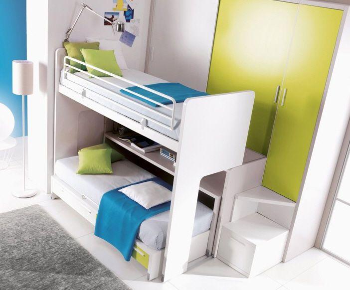 Kids bunk bed unisex 302 doimo cityline children for Childrens unisex bedroom ideas