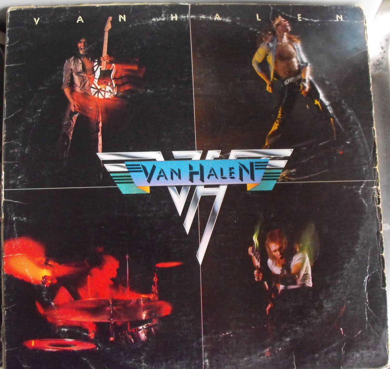 Van Halen Debut Album Vintage Record Album Vinyl Lp Classic Rock And Roll Van Halen Van Halen Album Covers Halen