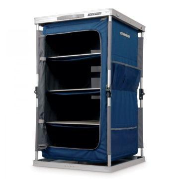 Oztrail 3 Shelf Deluxe Cupboard Camping Furniture Furniture Locker Storage