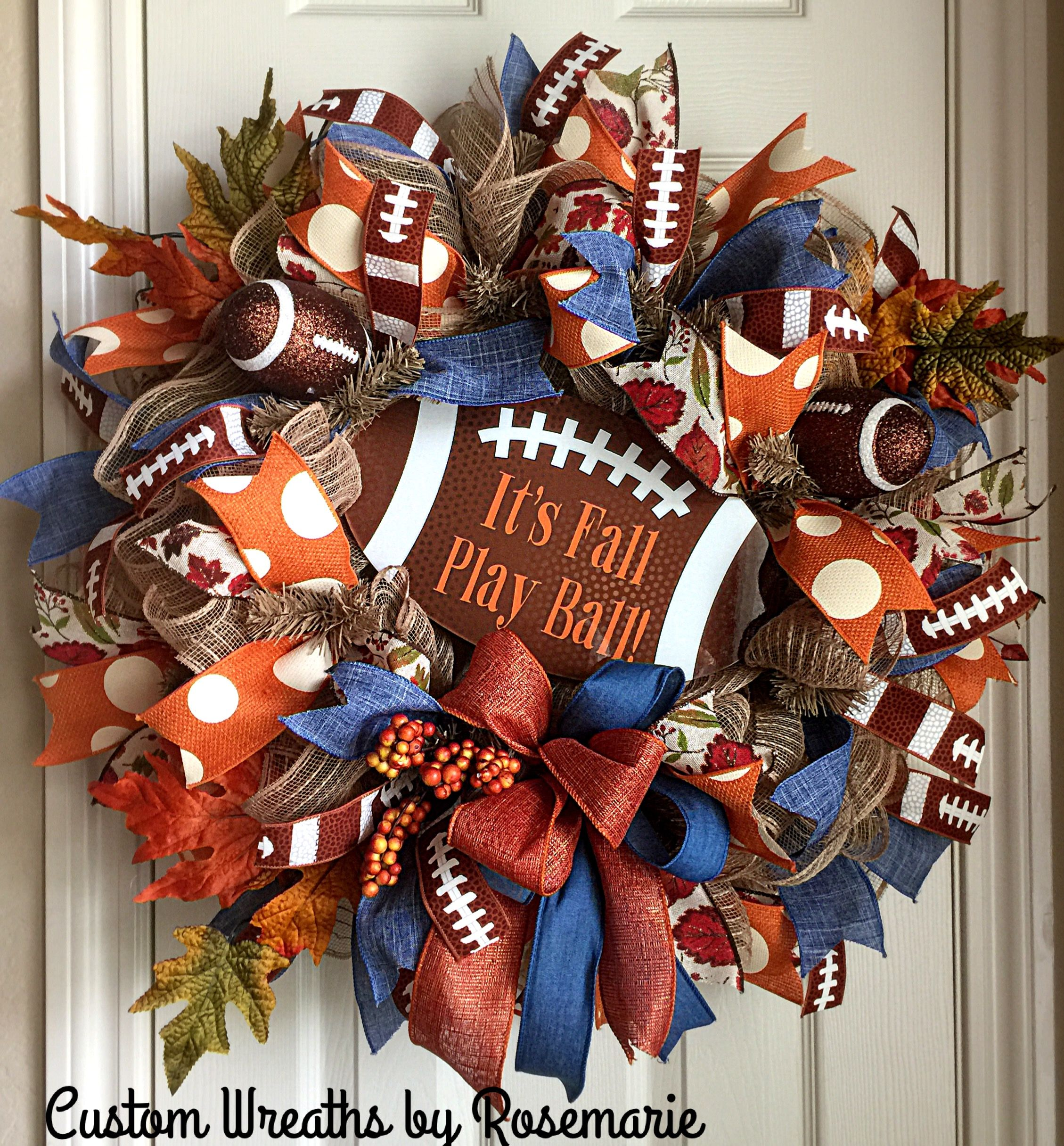 Sale The Deco Haus Tagged Blue: Pin By Wreathsbyro On Trendy Tree Custom Wreath Designer