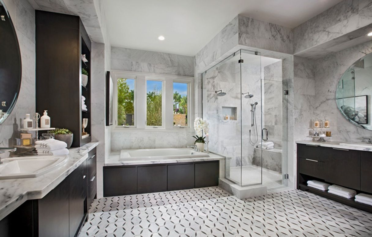 Would You Swoon Over This Spacious Bathroom White Master Bathroom