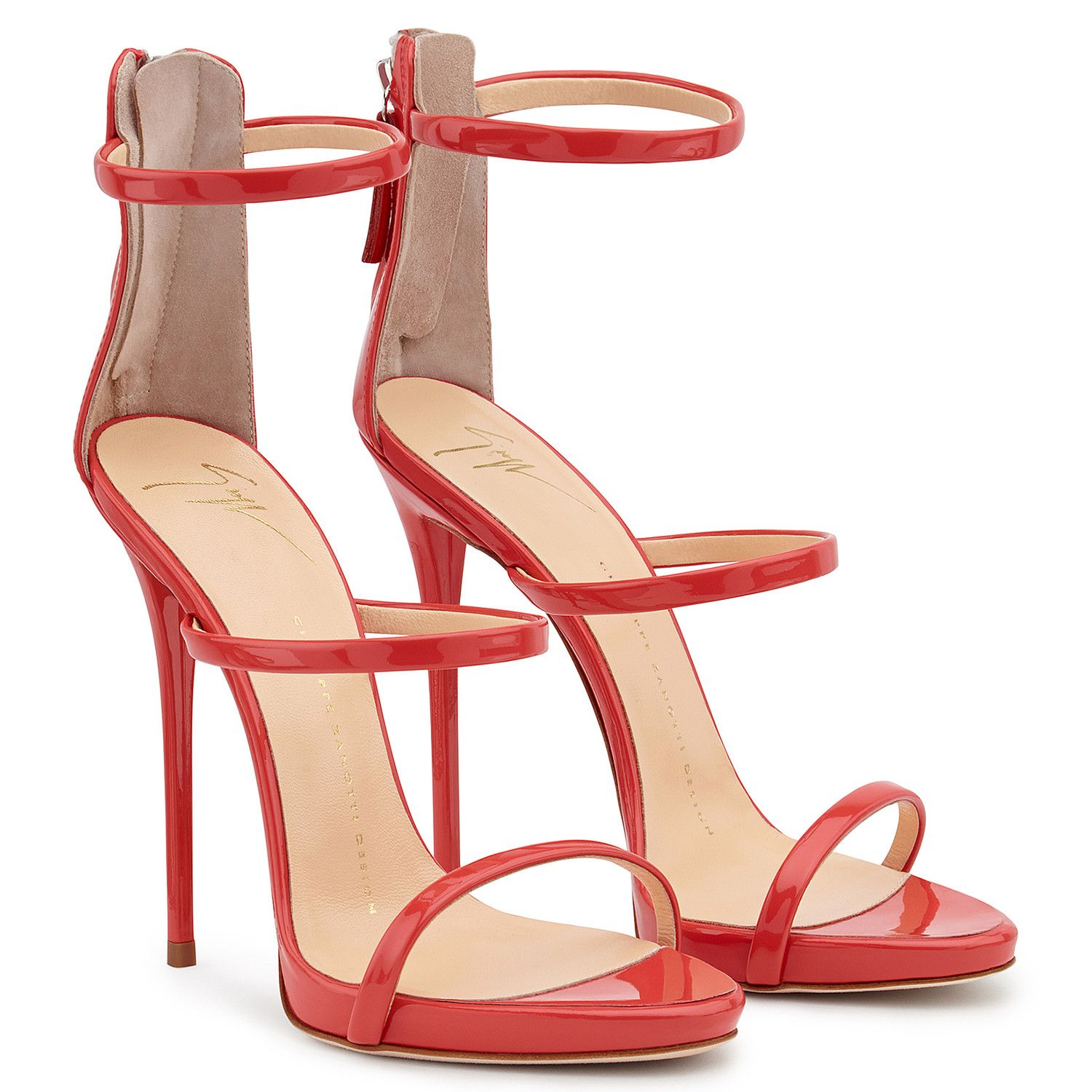 Harmony Sandals Red Giuseppe Zanotti Giuseppe Zanotti Design Online Store In 2020 Giuseppe Zanotti Heels Fashion Heels Red Shoes Sandals