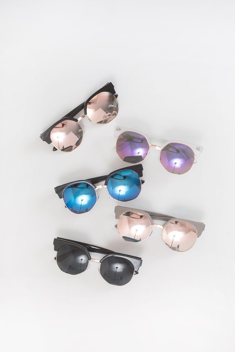 73e5d674120 Jess Brow Line Sunglasses