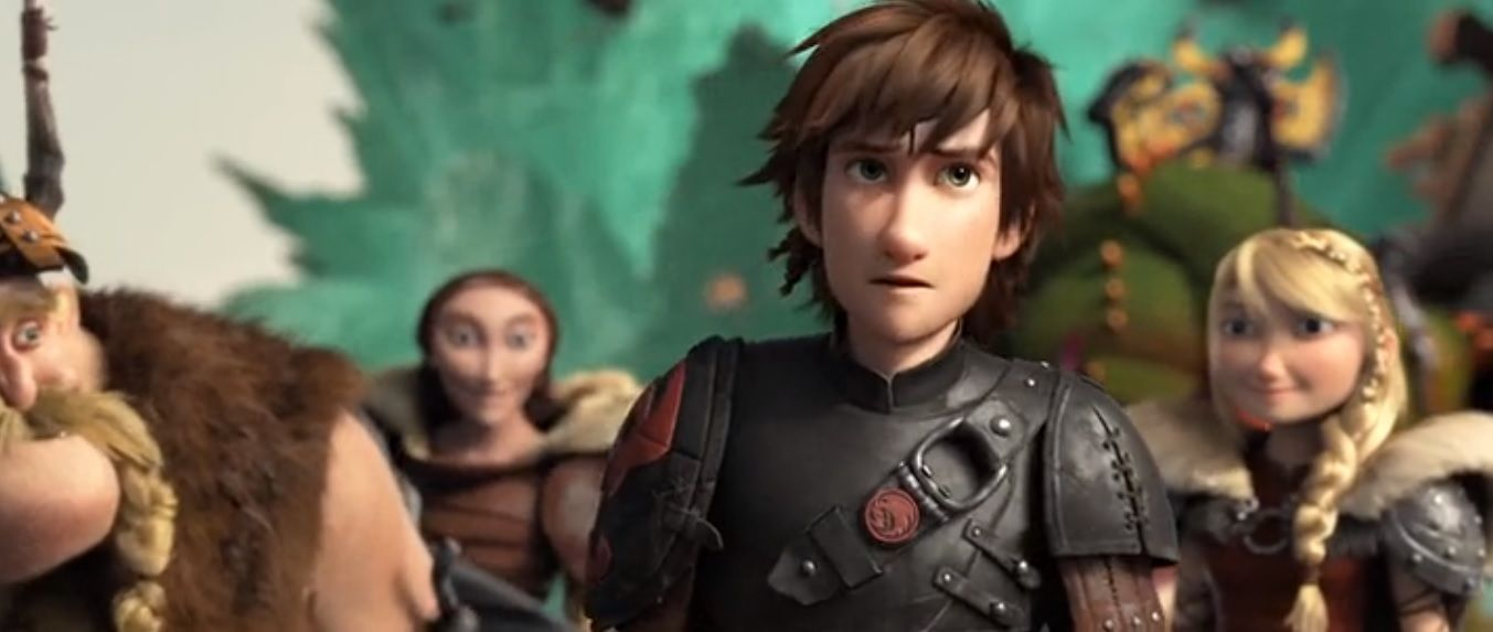 Hiccup now a new chief of Berk How train your dragon