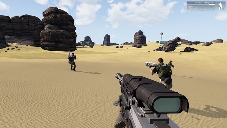 Arma 3: Contact released, that's what the first players say