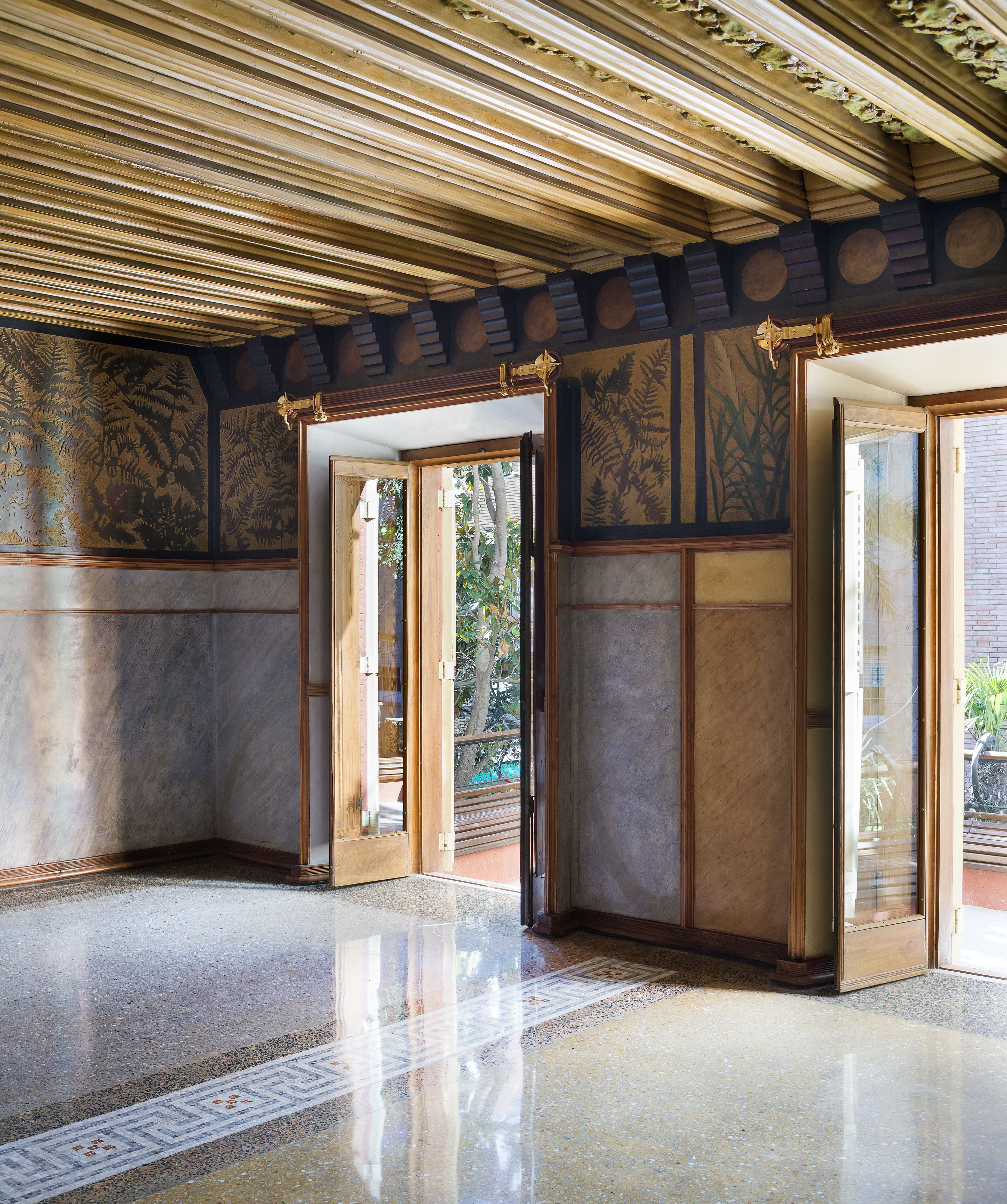 Gaud S Fantastic Casa Vicens Opens To The Public For The First  # Muebles Gaudi Guadalajara