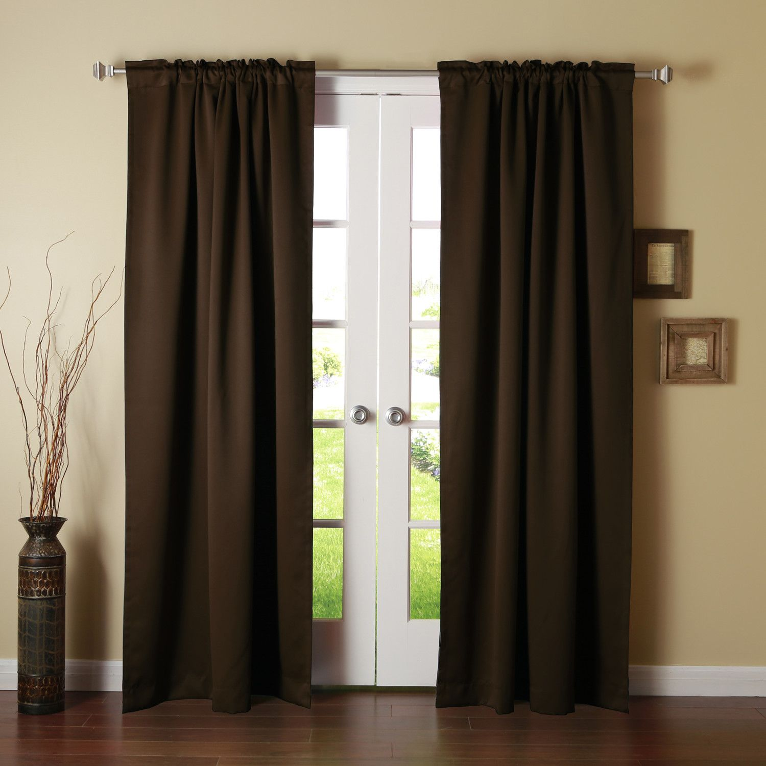 Best Home Fashion Inc Thermal Insulated Blackout Curtain Panel