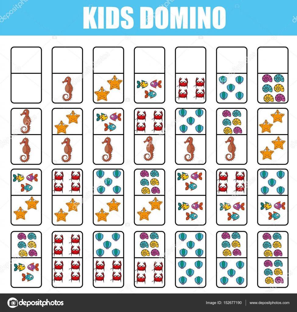 Domino Para Criancas Jogo Educacional De Criancas Atividade Para Impressao Jogos Educativos Para Criancas Jogos De Tabuleiro Para Criancas Jogos De Tabuleiro