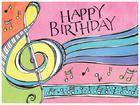 A musical Zenspirations Birthday design.